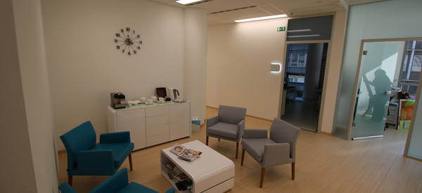Dermatology clinic in the Atrium building in Charles Square